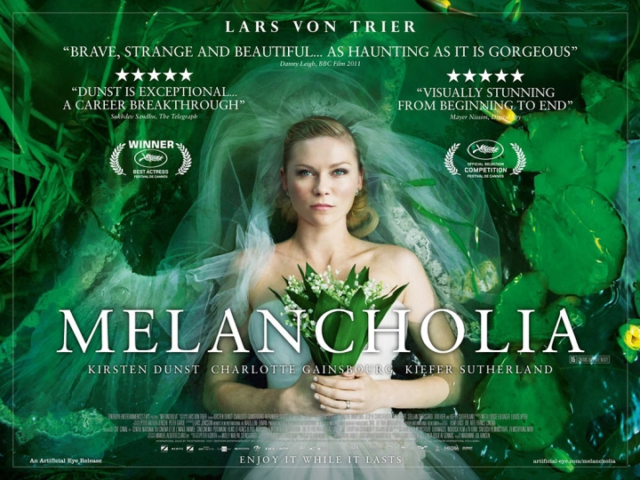 MELANCHOLIA - UK Poster by Christian Geisnaes